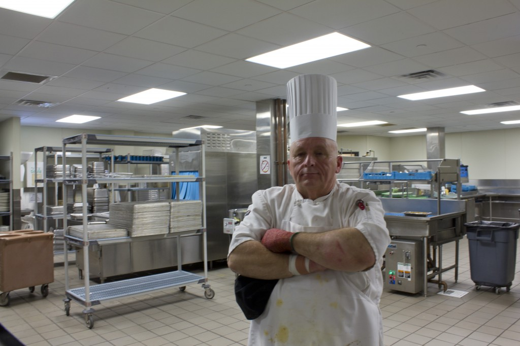 Chef Ed garnishes campus with classes