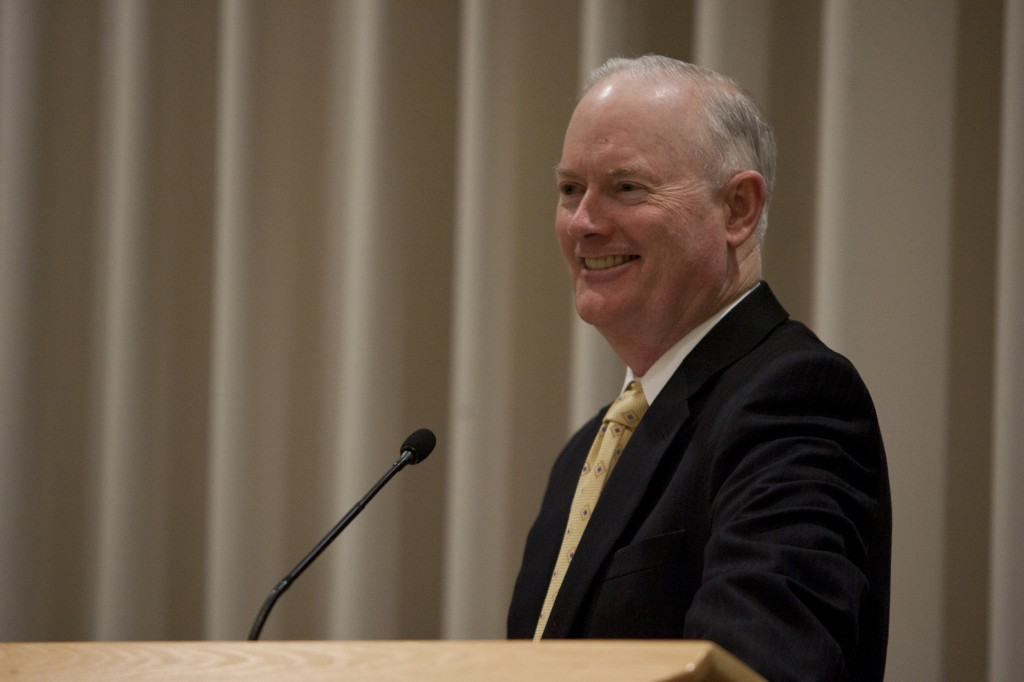 President Clark speaks about BYU-I Secrets page