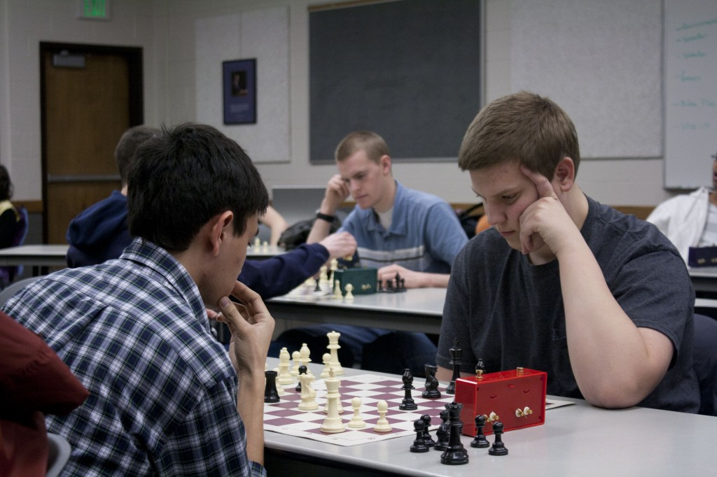 Chess players participate in tournament