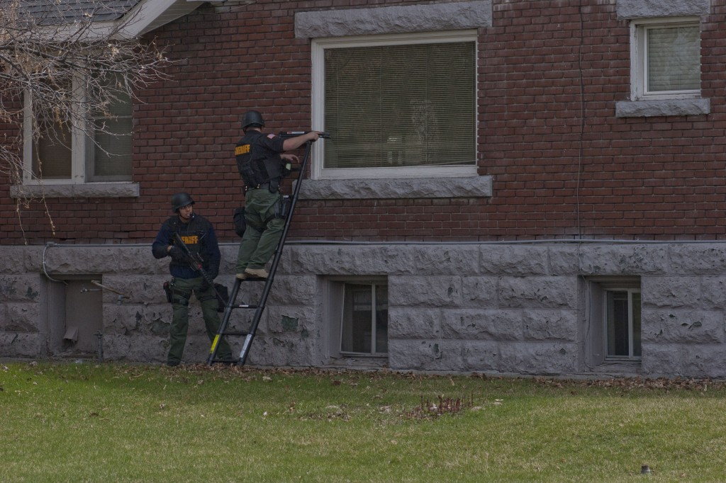 Rexburg SWAT team trains in empty houses