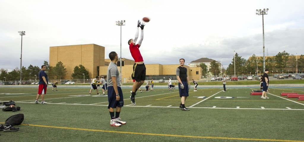 Spring Football Try-outs, Stadium, Marshall Meyer, CIT, Freshman, Red shirt