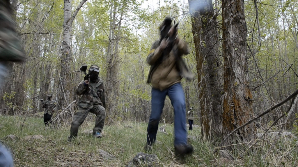 Outdoor Activities Battle it Out With Paintballs