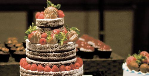 The cost of wedding cakes varies depending on the size, ingredients, detail and other factors.  According to www.statisticbrain.com, the average cost of a cake is $386.  DEANNE LARSEN | Courtesy Photo