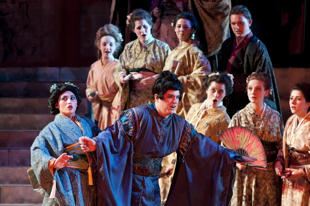 Mikado performance tailored to fit audience