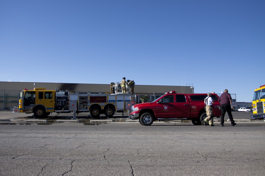 Local Kmart catches fire, all evacuated successfully