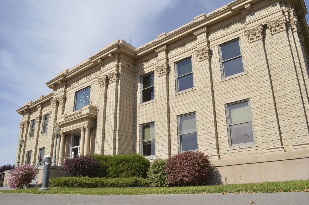 The Madison County Courthouse, located on Main Street in Rexburg, will be the meeting place of the Madison County Republicans Oct. 10. The meeting will include a speaker from Women for Decency. EMMA STARNES | Scroll Photography