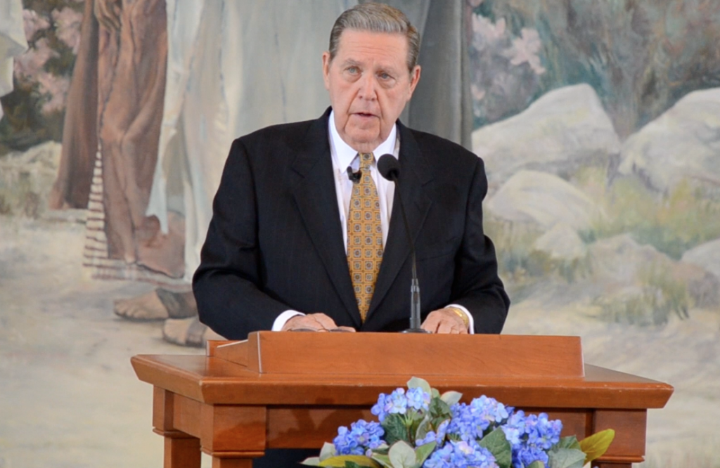 Elder Holland speaks on testimony at Book of Mormon Chiasmus Conference