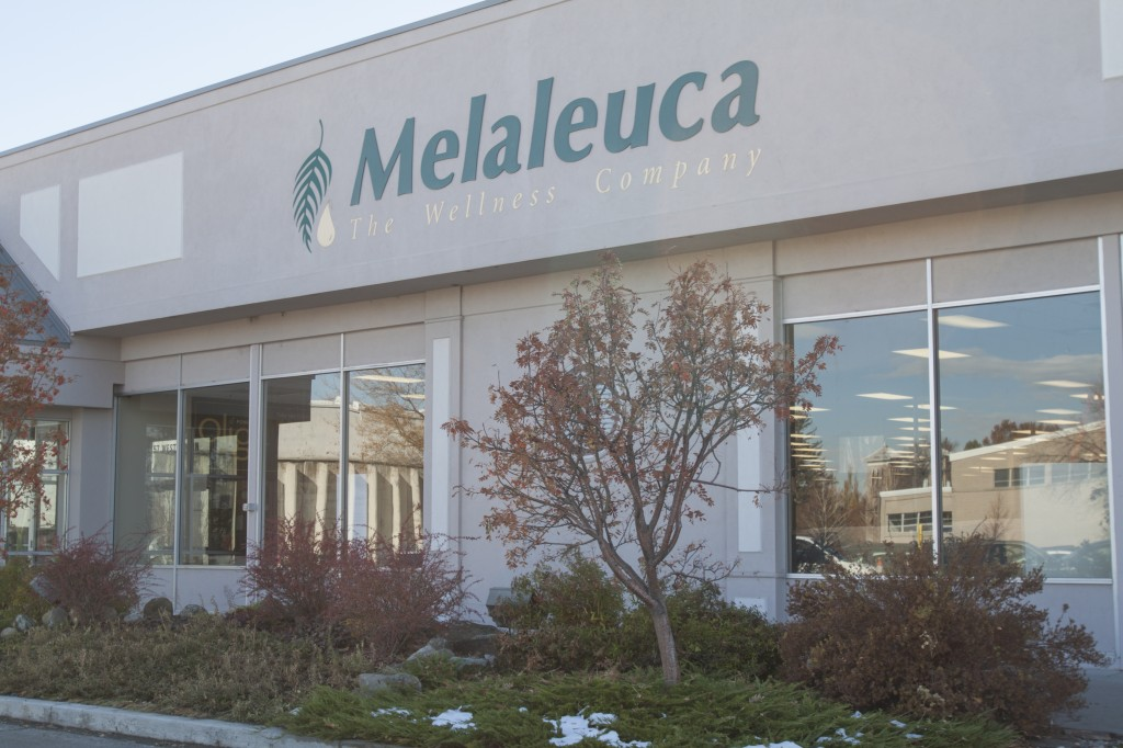 Melaleuca is located on Main Street in Rexburg. Americans for Decency has used Melaleuca's call center to make phone calls to citizens across the nation. The calls encourage citizens to consider the current economic circumstances when voting for the president of the United States. EMILY RUST | Scroll Photography