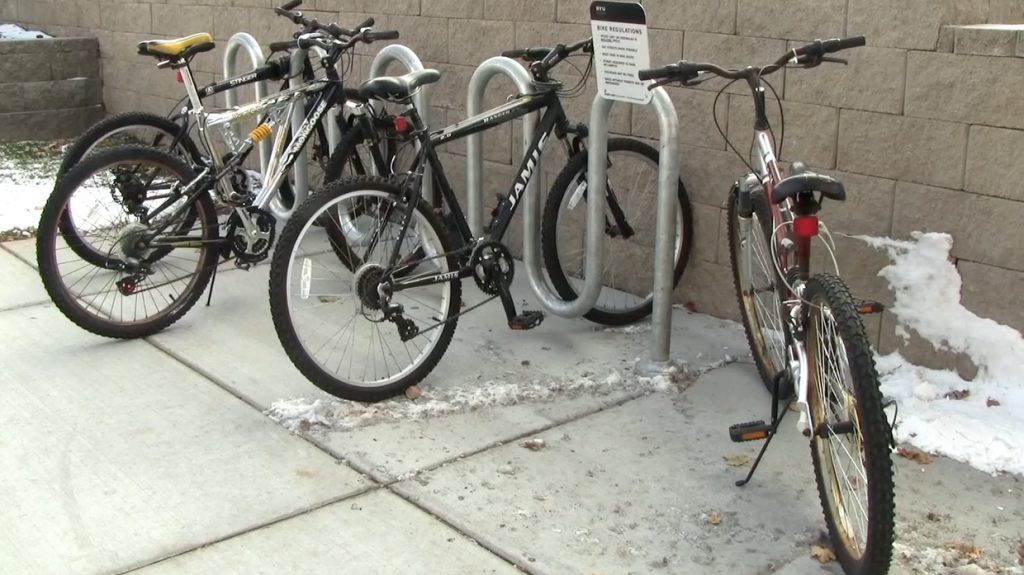 Disappearing Bikes On Campus
