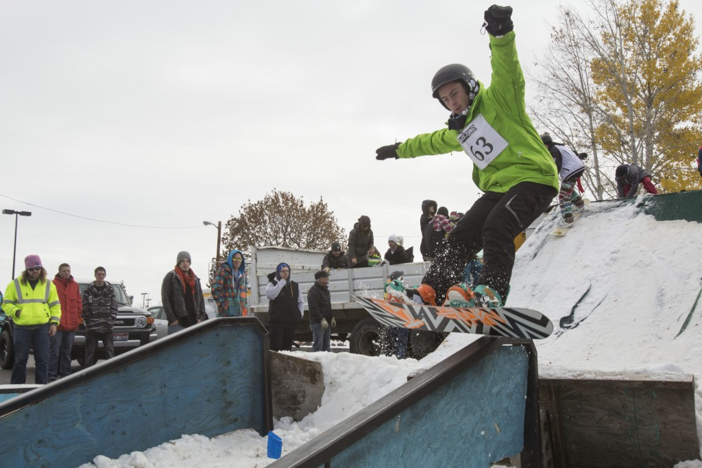 Sled Shed Rail Jam 2012 - BYU-I Scroll
