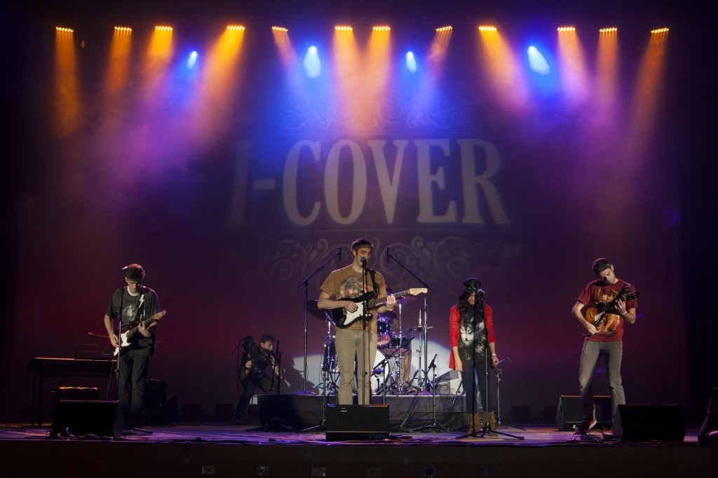 "The student band Lobos performs in I-Cover Nov. 9. This semester's concert featured a ""folksy theme"" and 12 bands. A dance followed the concert. The concert cost 5$ in advance and 7$ at the door.  MARIAH HALVERSON 