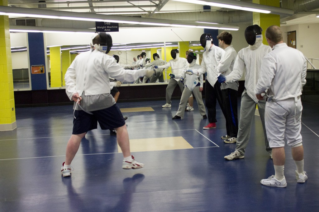 Fencing Club Saturdays 11 - 1pm