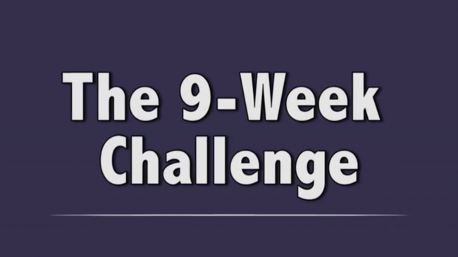Students Take on the 9-Week Challenge