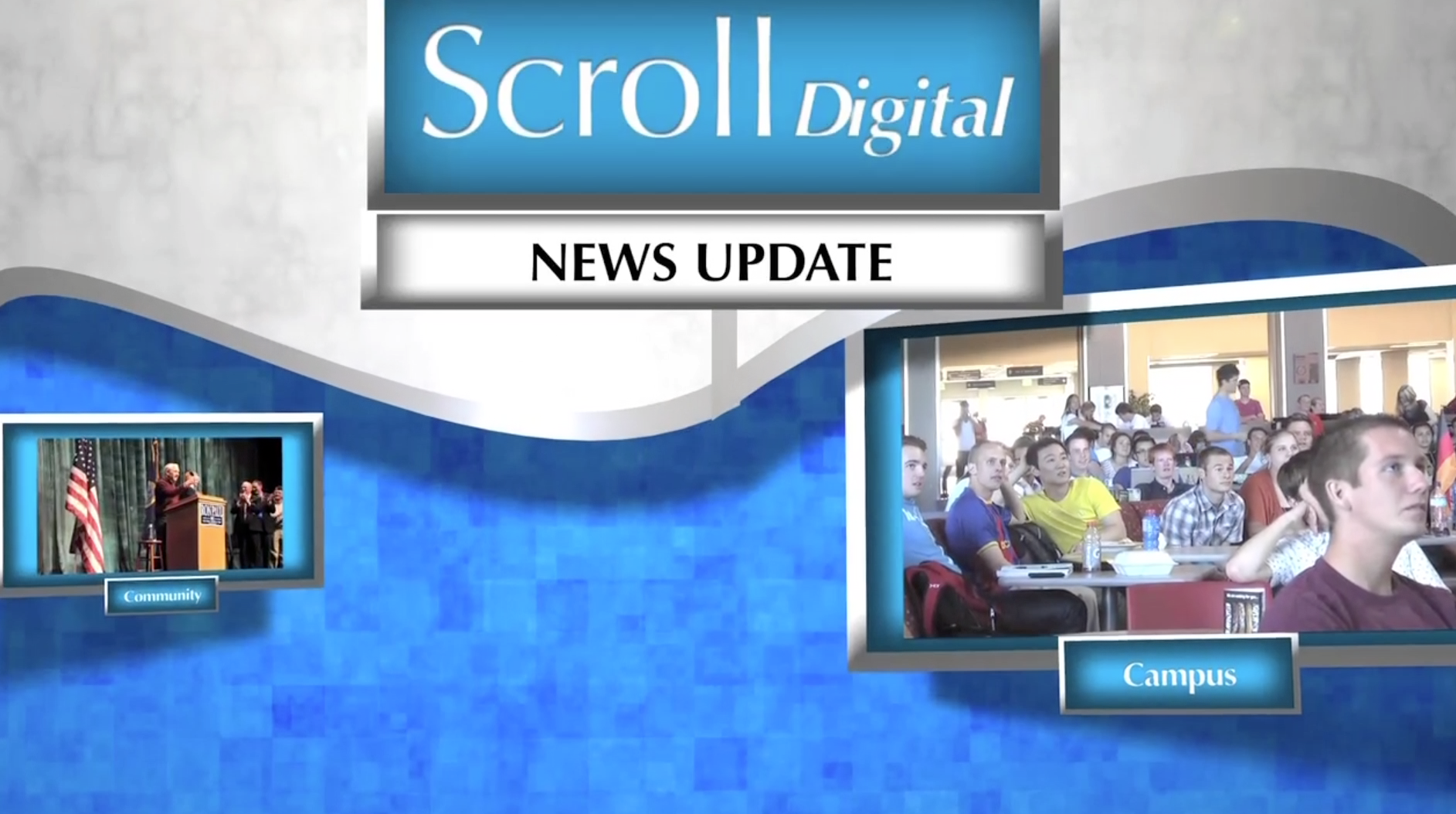 Behind The Scenes Look At Creating The Scroll Digital Newscast
