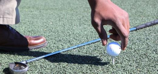 Golf can be traced back to paganica, a Roman game where a bent stick would be used to hit a stuffed leather ball. In the 2000's, golf clubs were manufactured from materials like graphite, titanium, carbon fiber and tungsten, according to the International Golf Federation website. AUDREY HALVERSON | Scroll Photography