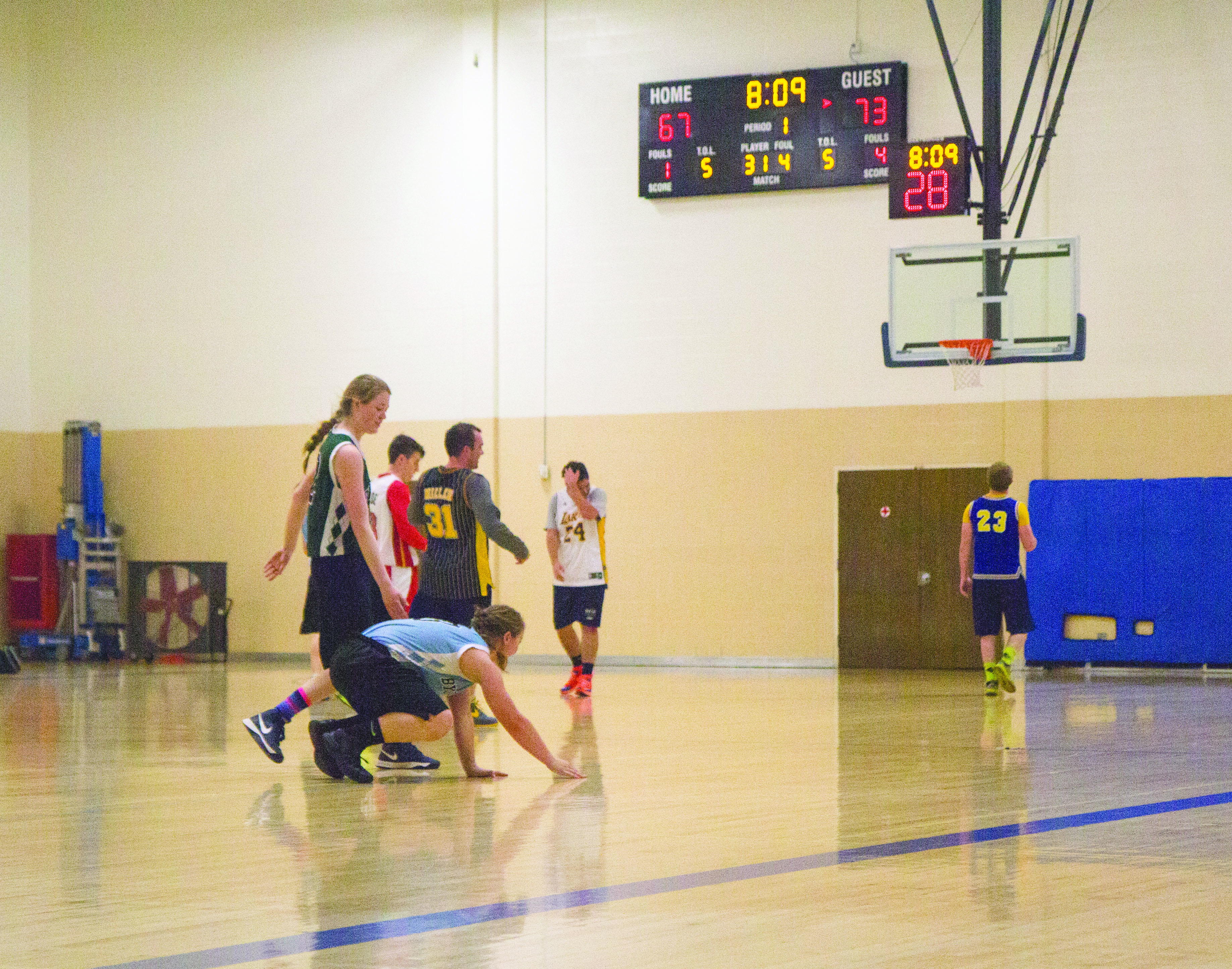 B-ball all-stars compete with coaches
