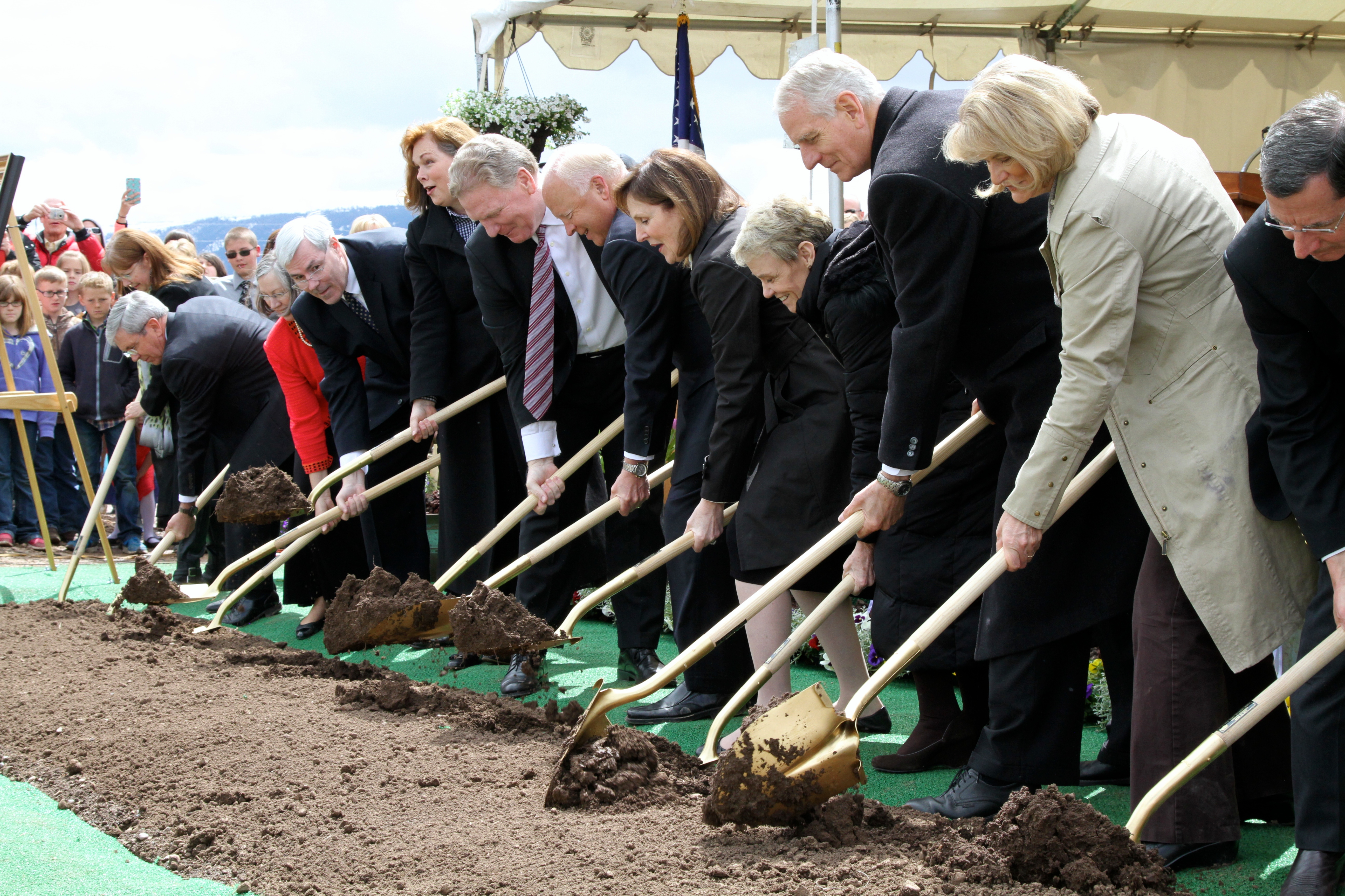 Church breaks ground for Star Valley Temple