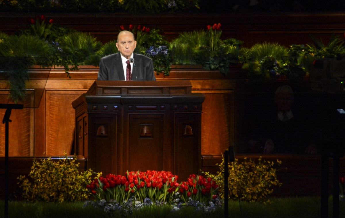 Church releases statement about President Monson's health
