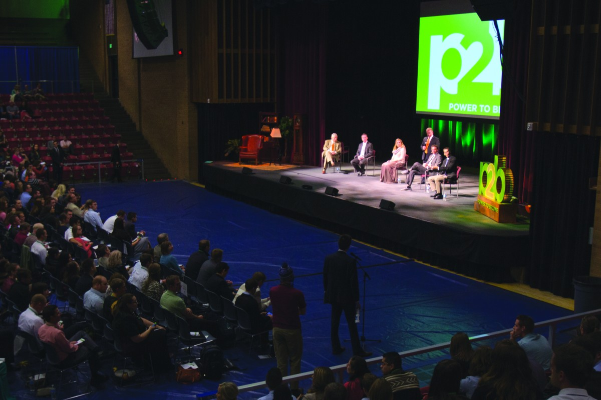 P2B conference returns to campus