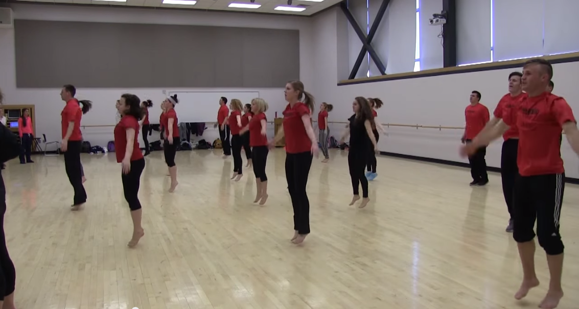 BYU-I students reach out through dance