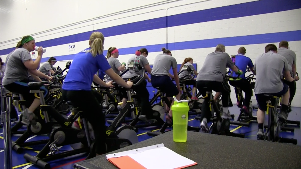 Students build endurance for the Try a Tri event