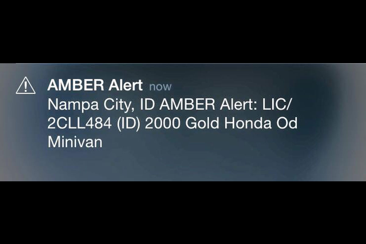 Amber alert helps locate two missing children in Idaho