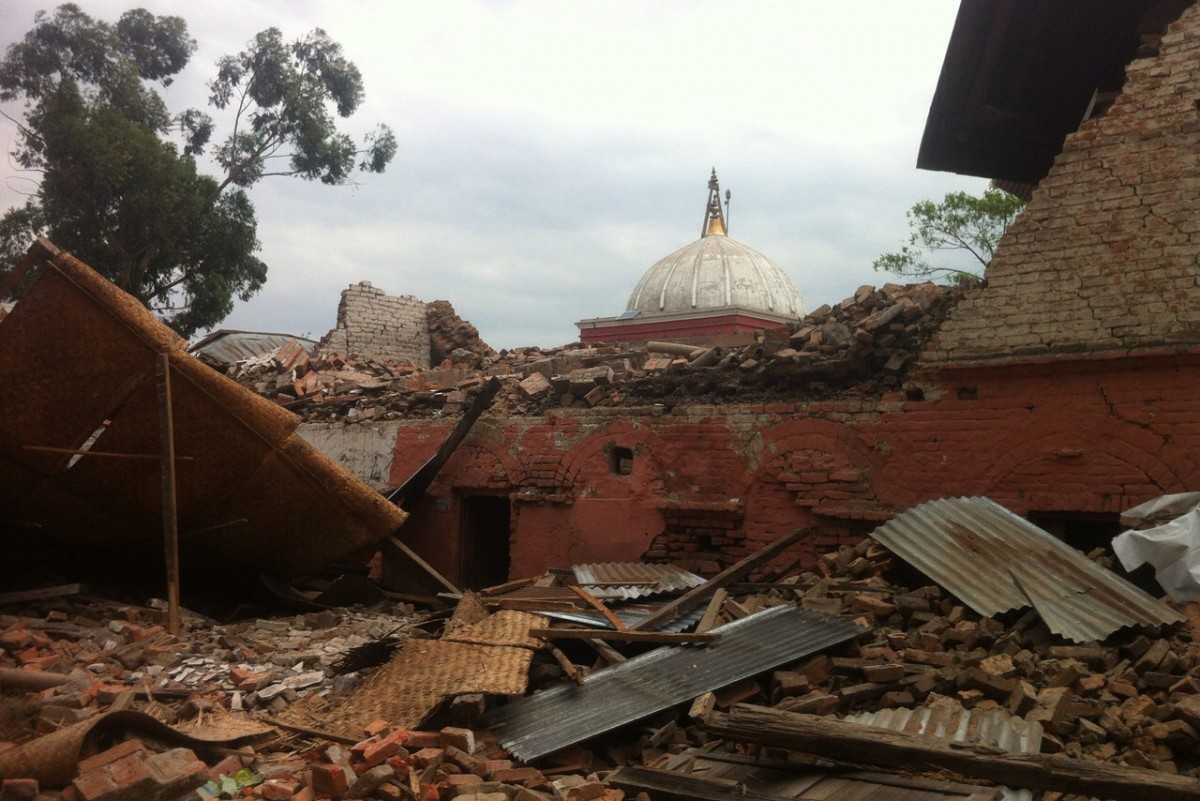 Nepalese students reflect on quake