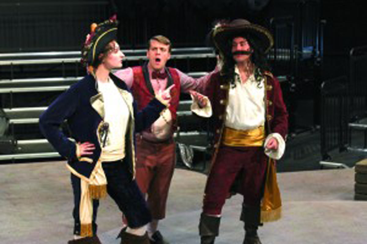 Faculty Member writes new play: Clever Jack and the Pirates