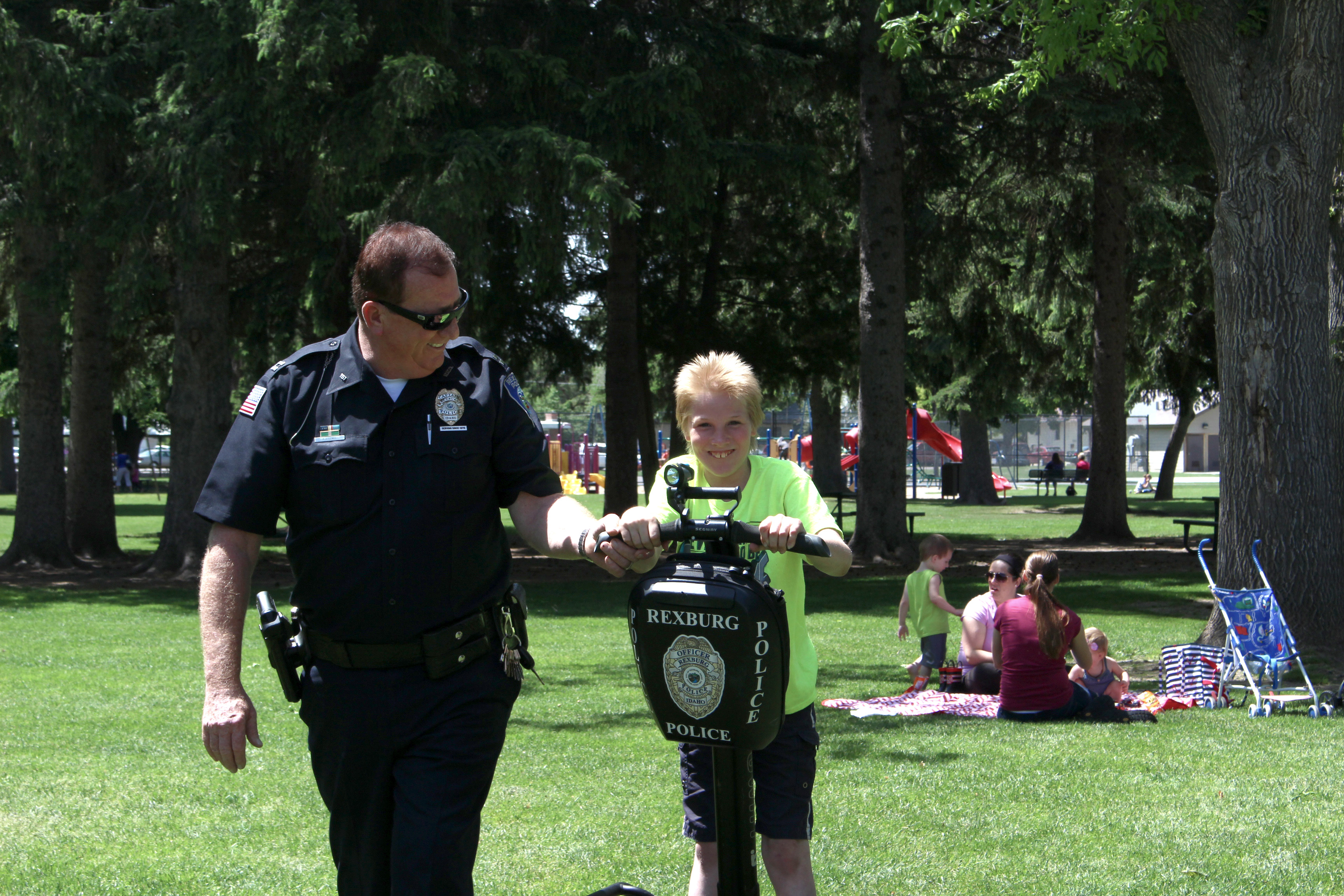 Rexburg Police Department hosts picnic for those with special needs