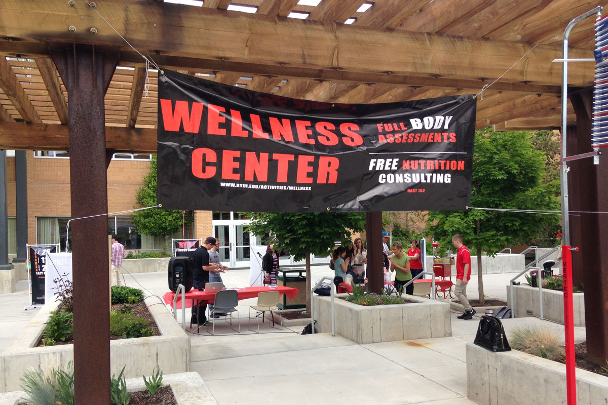 Wellness Fair helps students learn about health
