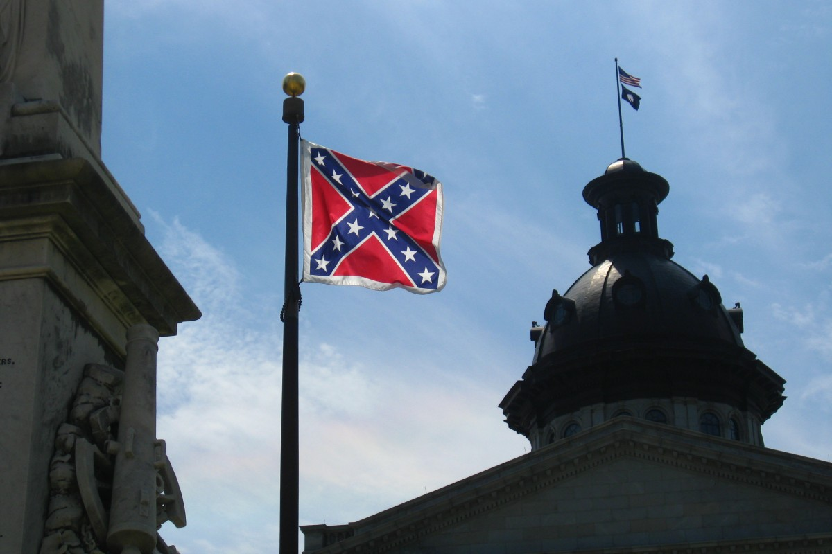 Southern states debate over Confederate flag