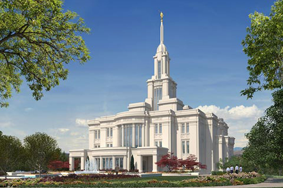 New Payson Temple dedicated on Sunday