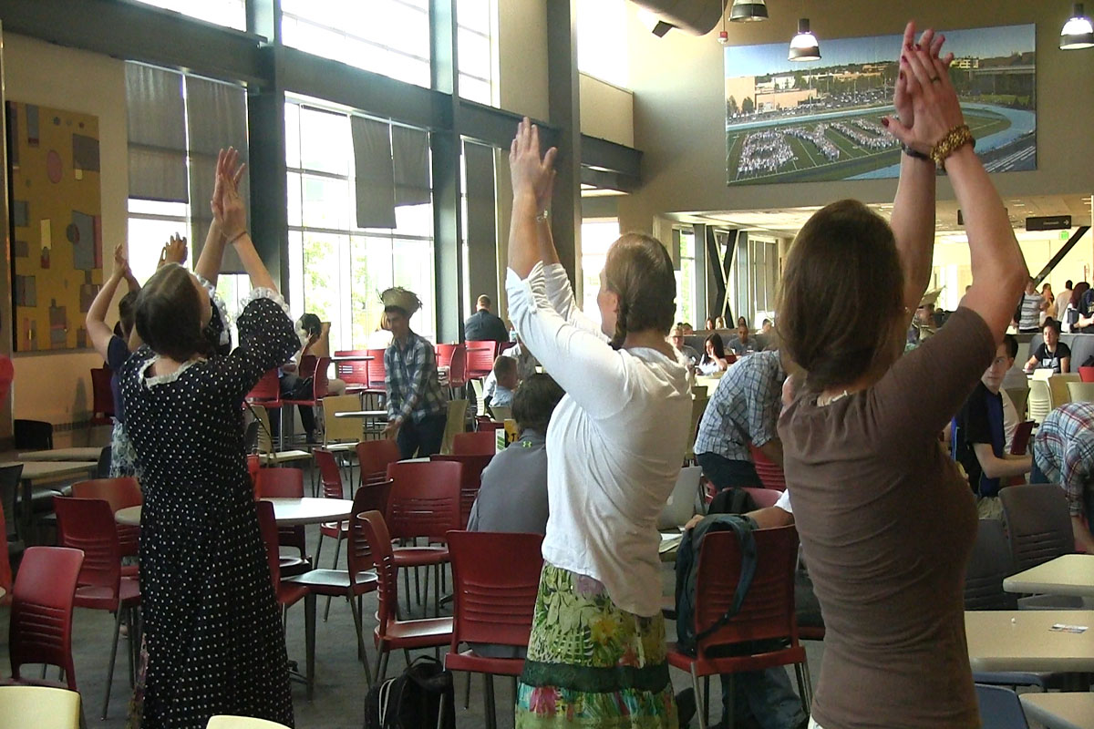 Flash mobs serve greater purpose than just fun