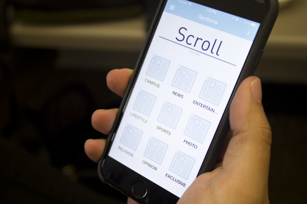 Scroll app mobilizes campus news