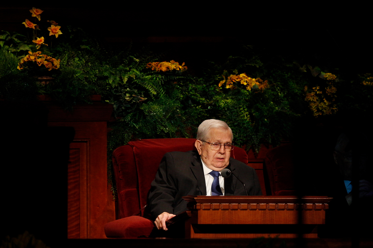 President Boyd K. Packer's funeral service: Students reflect