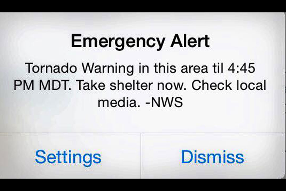 Breaking News: Tornado warning issued in Eastern Idaho