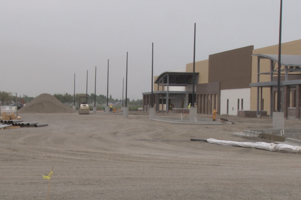 New, bigger Walmart nearing end of construction in Rexburg