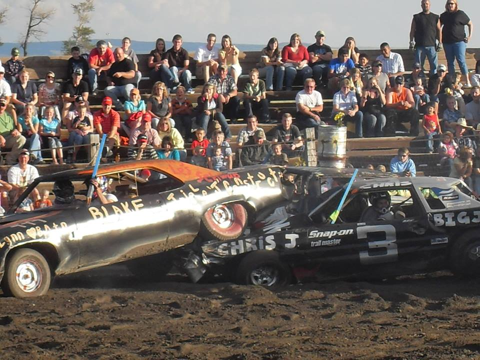 Fremont County Search and Rescue holds annual Demolition Derby