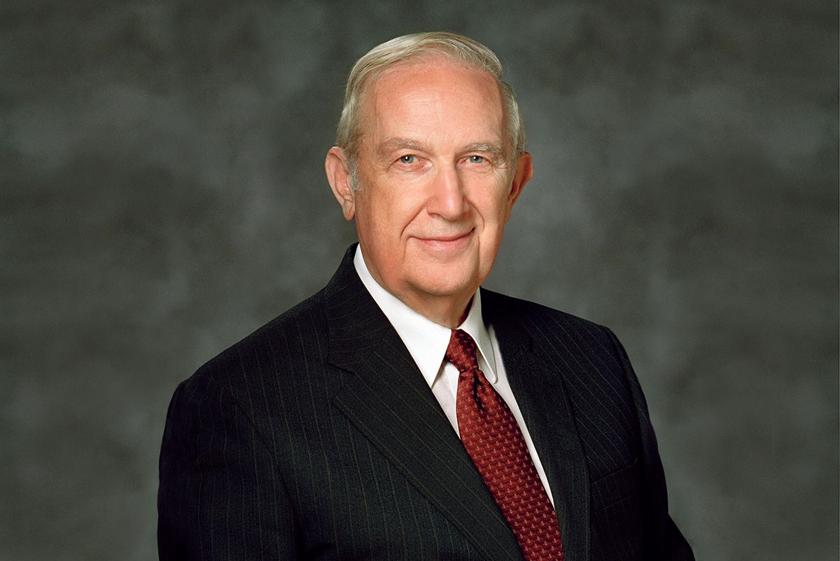 Funeral plans for Elder Richard G. Scott announced