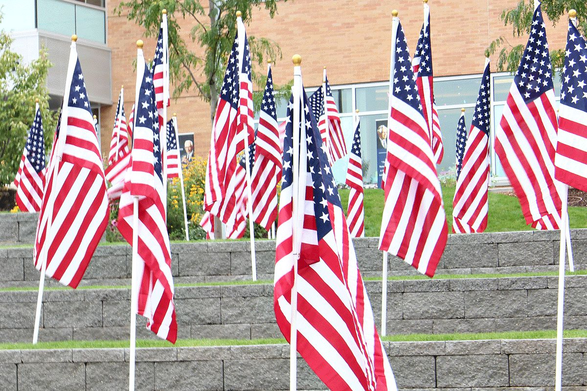 U.S Flags Take Over BYU-Idaho Campus For Constitution Day