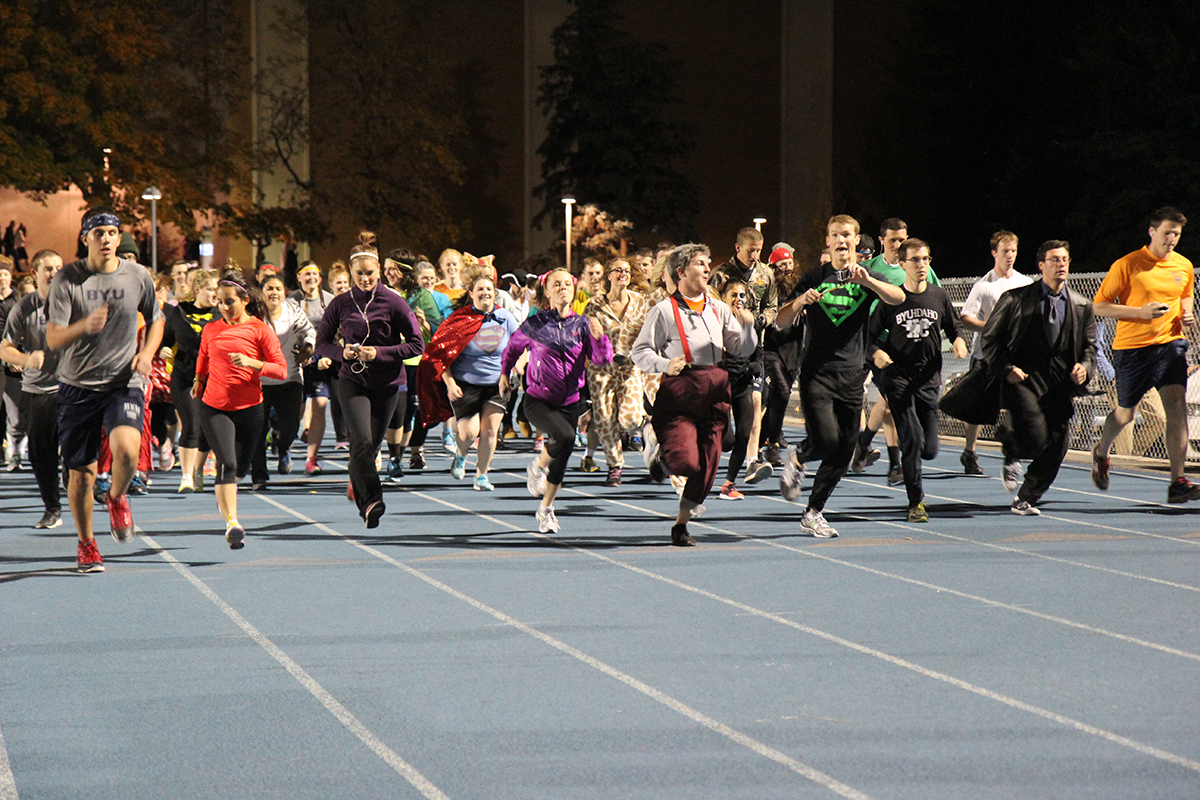 Friday flaunts familiar frightfully fun 5k