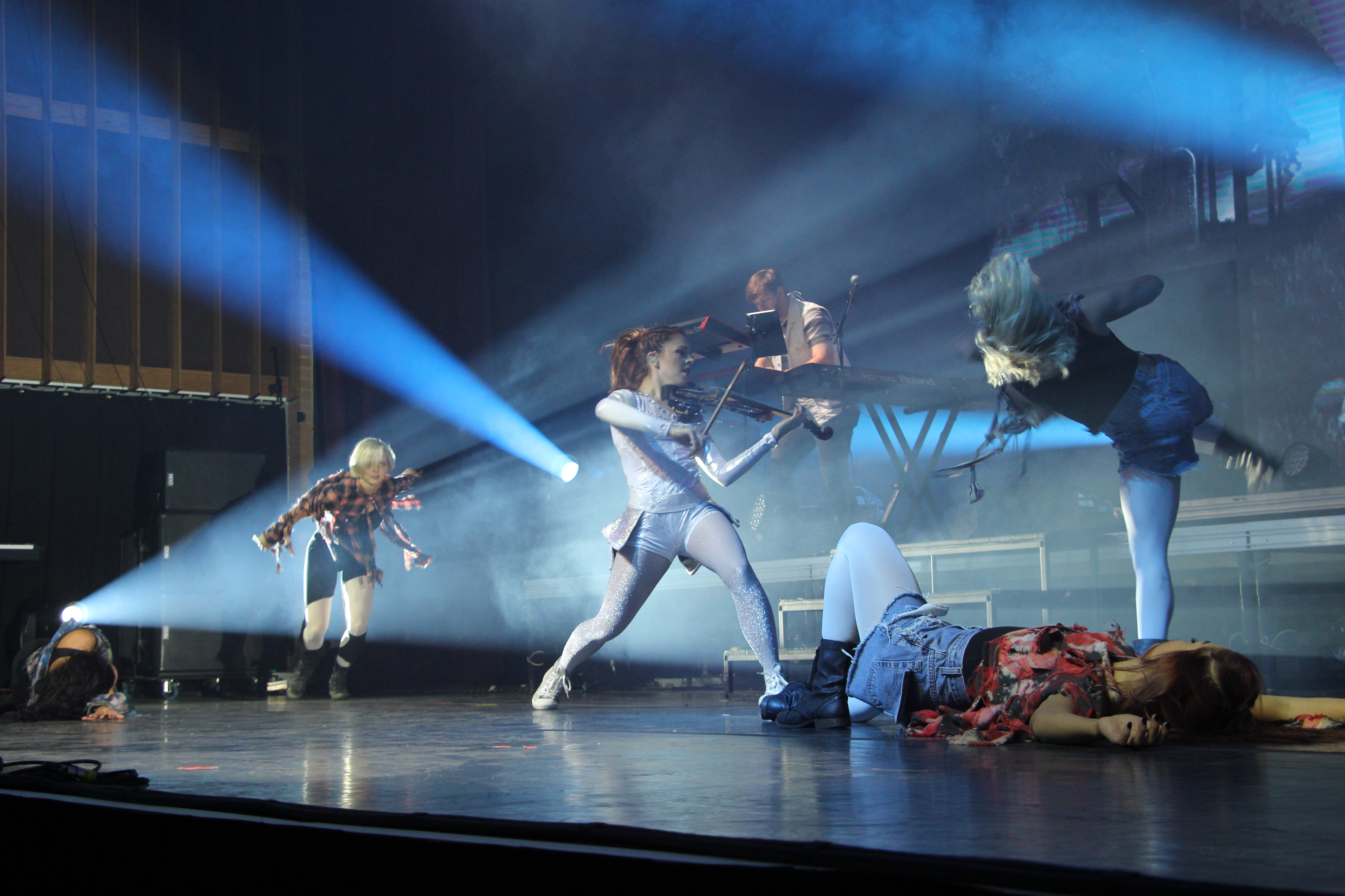 Lindsey Stirling brings her best to the stage at BYU-Idaho