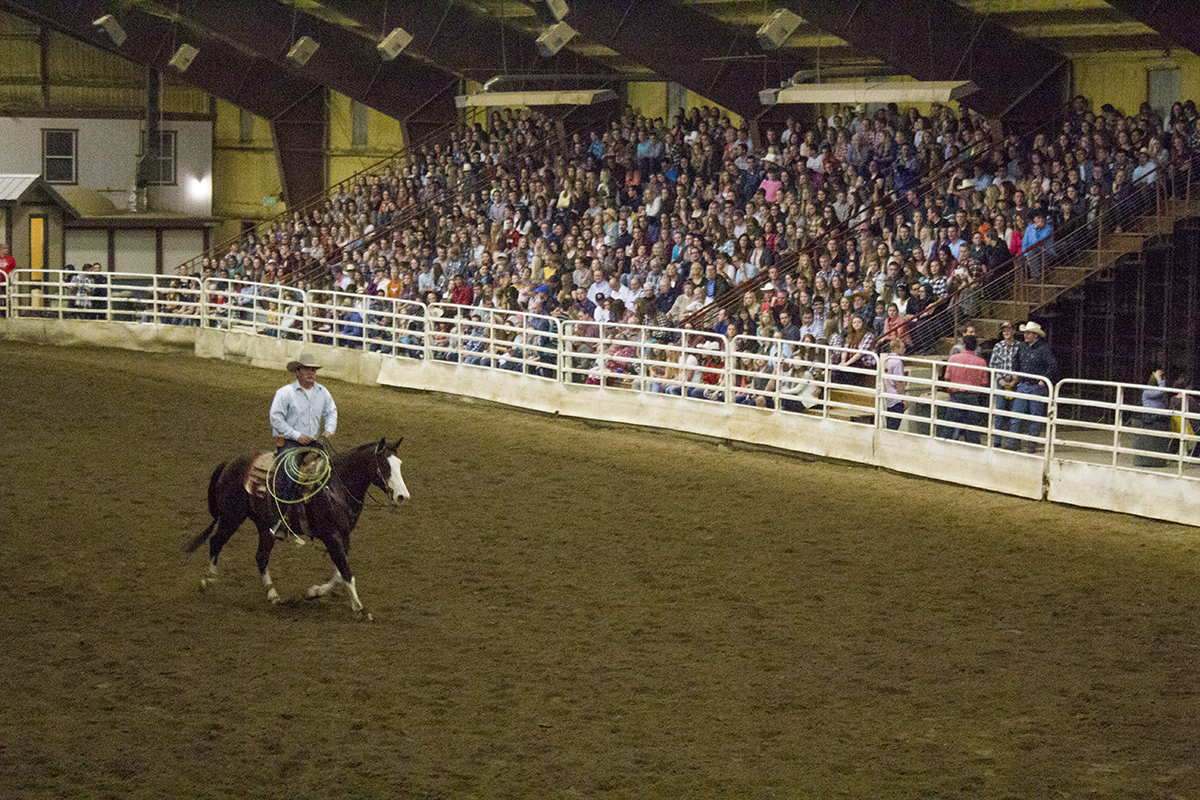 Local rodeo tests new riders' nerves