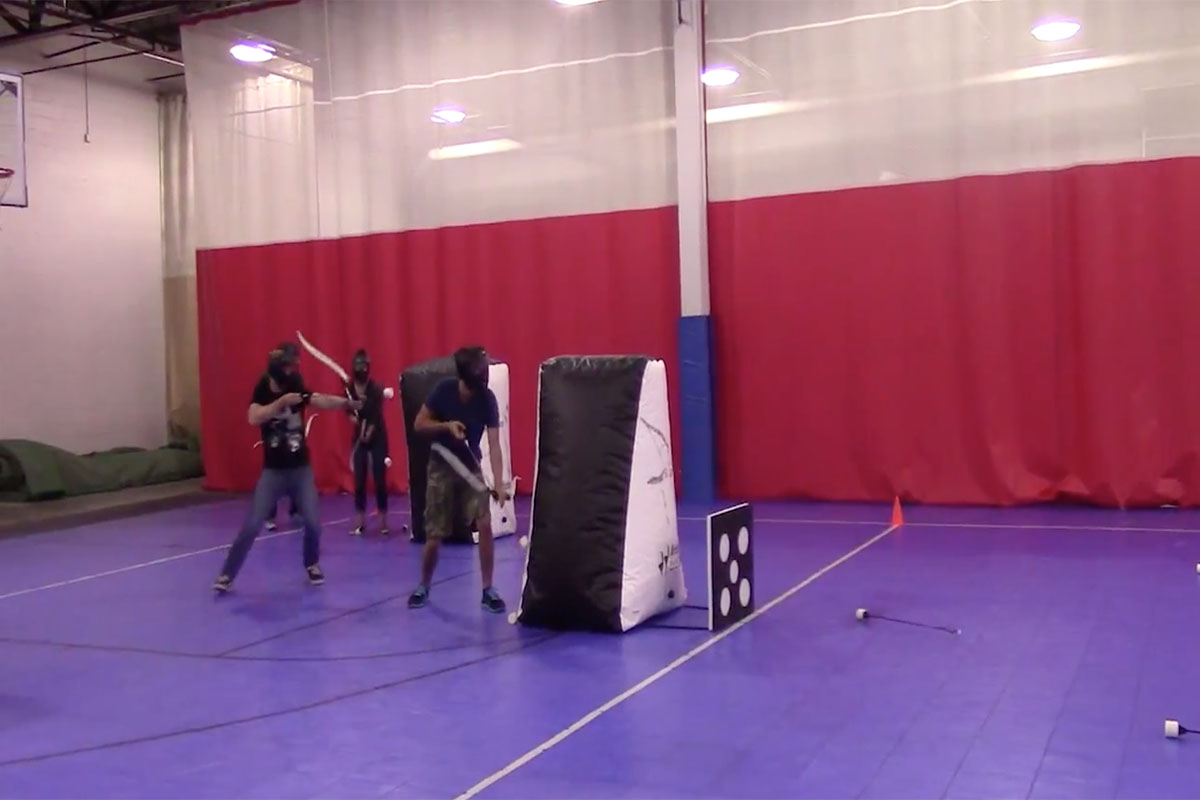Tag Archery Introduced at The Zone