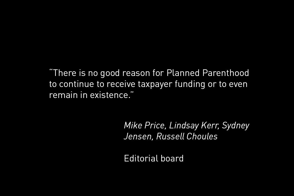 Dissenting opinion: Planned Parenthood not necessary for women's health