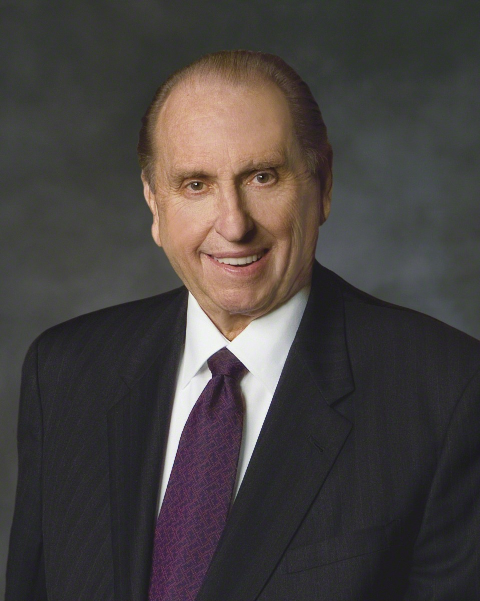 Students sustain President Monson