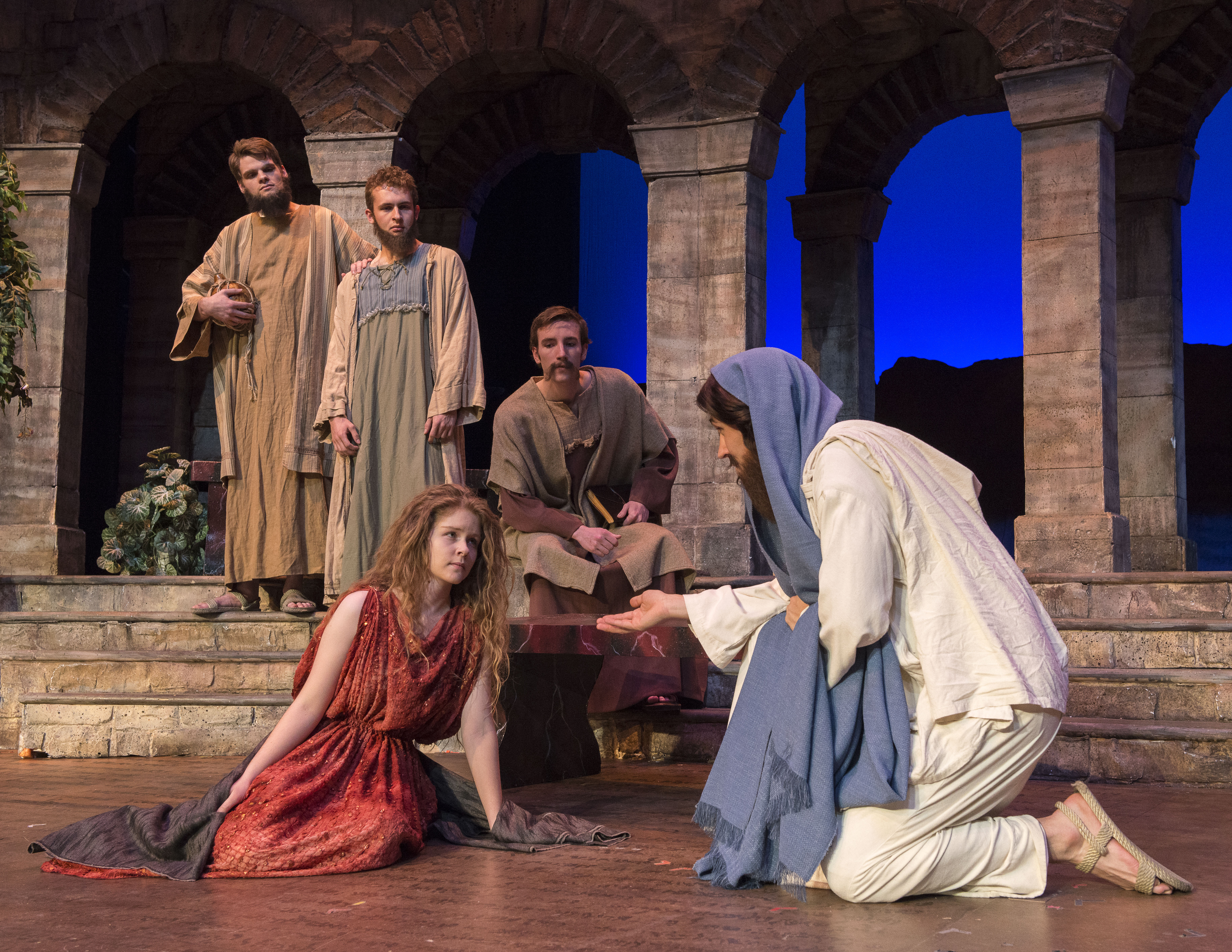 Christmas production portrays the life of Christ