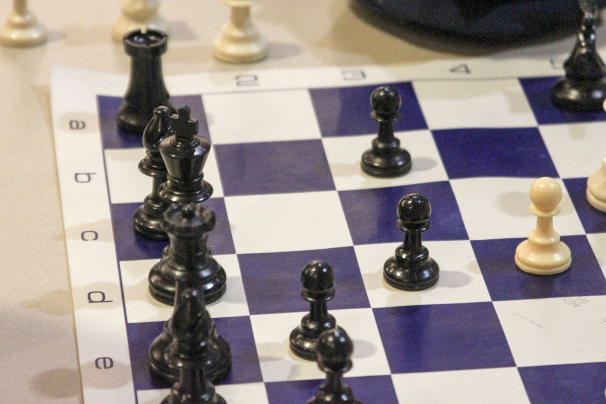Concentration critical to chess checkmate
