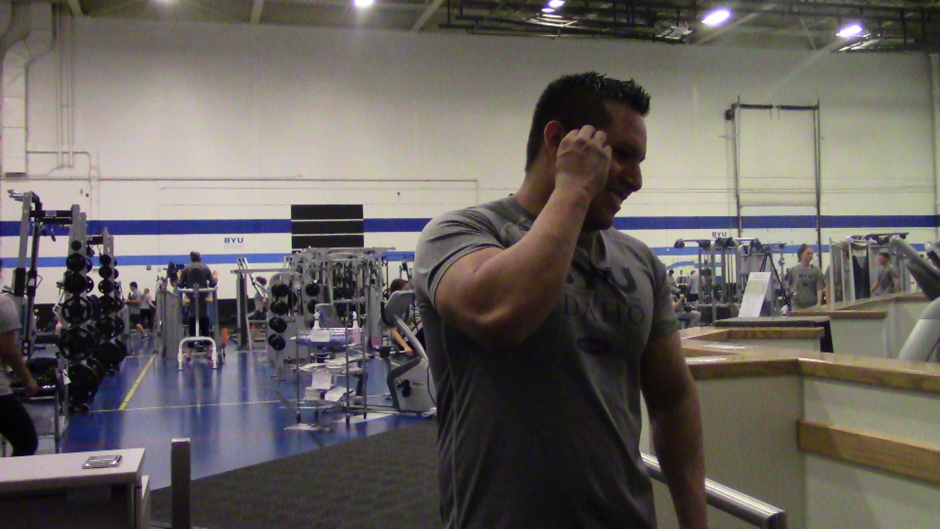 Fitness aids students with stress management