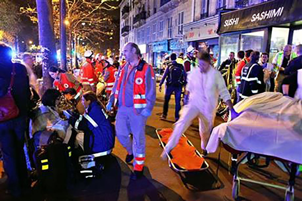 Terrorists kill more than 120 people in Paris